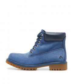 QUEENS BLUE NAPPA LEATHER