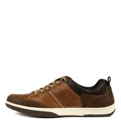 C VICTOR TAN BROWN LEATHER