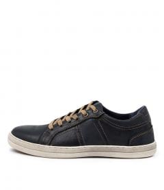 CRUISER-E NAVY LEATHER