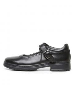 SERENAS CF BLACK LEATHER