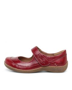 HATTY RED LEATHER
