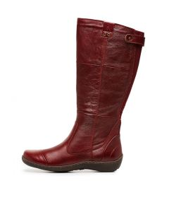 HAMPSHIRE RED TUMBLE LEATHER