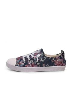 EMPORY NAVY MULTI FLORAL