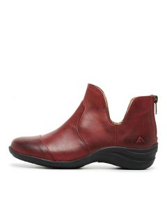 BLOSEY BURGUNDY LEATHER