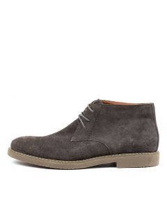 C CRAIG DARK GREY SUEDE