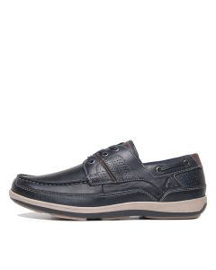 C-SCIVE-CF NAVY LEATHER