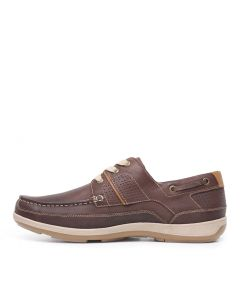 C-SCIVE-CF BROWN LEATHER