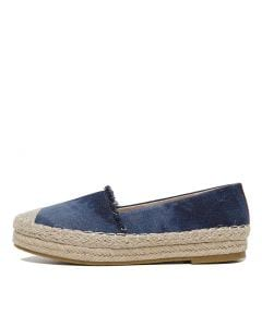 VALERIA CF NAVY DENIM LEATHER