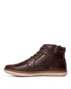 C TINNY CF DARK BROWN LEATHER