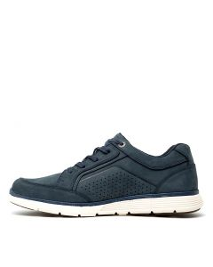 C-YOUNG NAVY LEATHER