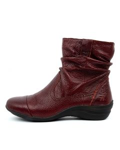 BURTON RED LEATHER