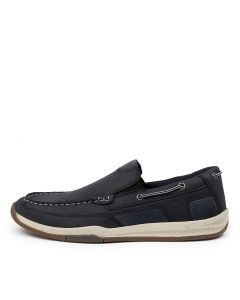 CAPTAIN NAVY LEATHER
