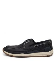 CAUSEWAY NAVY LEATHER