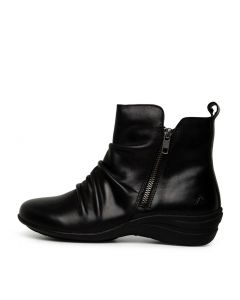 BROCKTON BLACK LEATHER