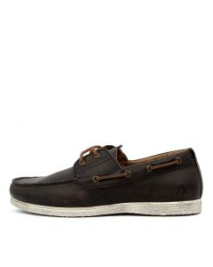 RAFT BROWN WASHED LEATHER